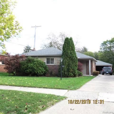 8736 Rockland Street, Dearborn Heights, MI 48127 (#219108775) :: The Mulvihill Group