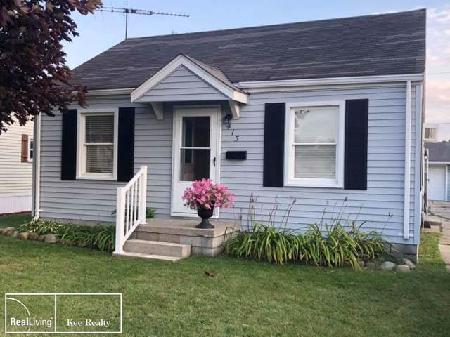 415 Bell St., Marine City, MI 48039 (MLS #58031398461) :: The Toth Team