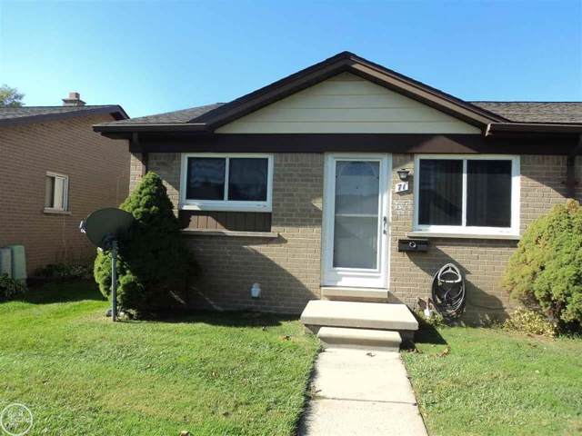 8401 Eighteen Mile Rd #71 No. 1 Unit 71, Sterling Heights, MI 48313 (#58031398506) :: GK Real Estate Team