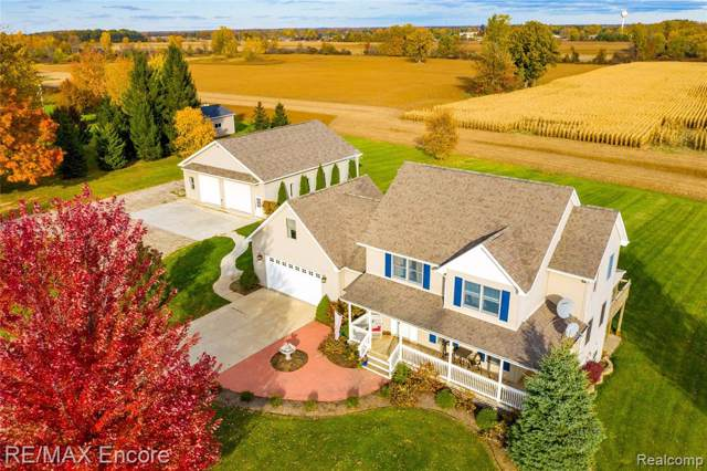 4815 Shoemaker Road, Almont Twp, MI 48003 (#219109662) :: The Buckley Jolley Real Estate Team