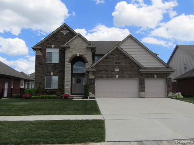 22060 Rio Grande Drive, Macomb Twp, MI 48044 (MLS #219109907) :: The Toth Team