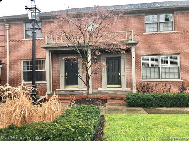 633 N Old Woodward Avenue, Birmingham, MI 48009 (#219109943) :: The Buckley Jolley Real Estate Team