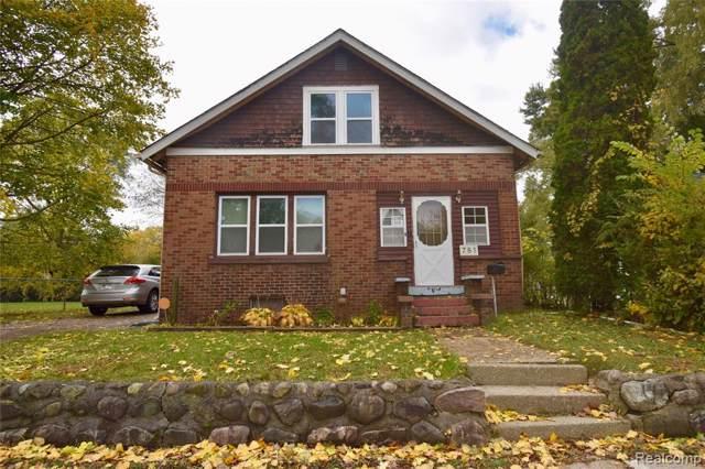 781 Kenilworth Avenue, Pontiac, MI 48340 (#219110247) :: RE/MAX Nexus