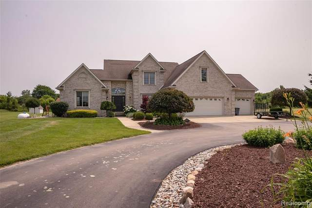 4384 N Oak Road, Richfield Twp, MI 48423 (#219110616) :: The Merrie Johnson Team