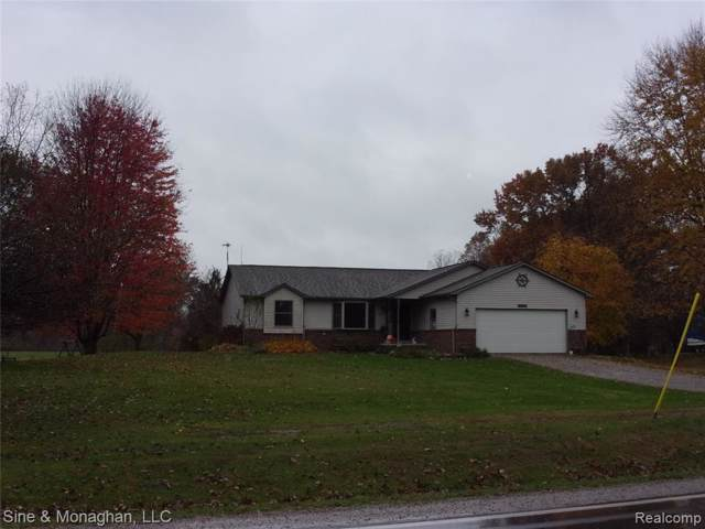 7354 Marsh Road, Cottrellville Twp, MI 48039 (#219111361) :: Team Sanford