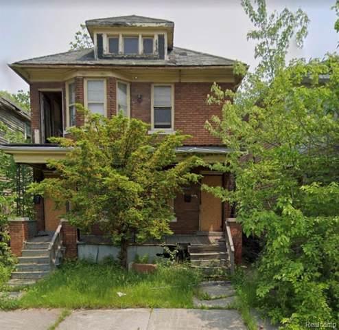6062 Hazlett, Detroit, MI 48210 (#219111435) :: The Mulvihill Group