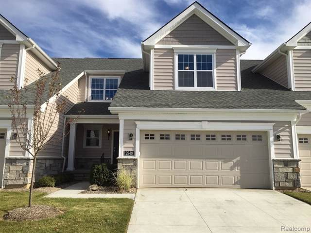 2548 Oxford Circle #20, Scio Twp, MI 48103 (MLS #219112053) :: The Toth Team