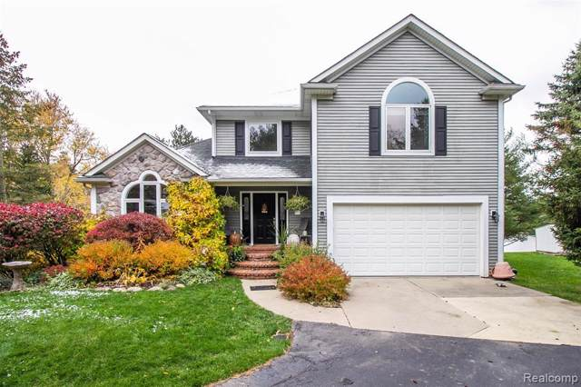 1612 Lake Metamora Drive, Metamora Twp, MI 48455 (MLS #219112573) :: The Toth Team