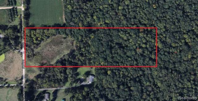 0000 Earhart Road, Northfield Twp, MI 48178 (#219112725) :: GK Real Estate Team