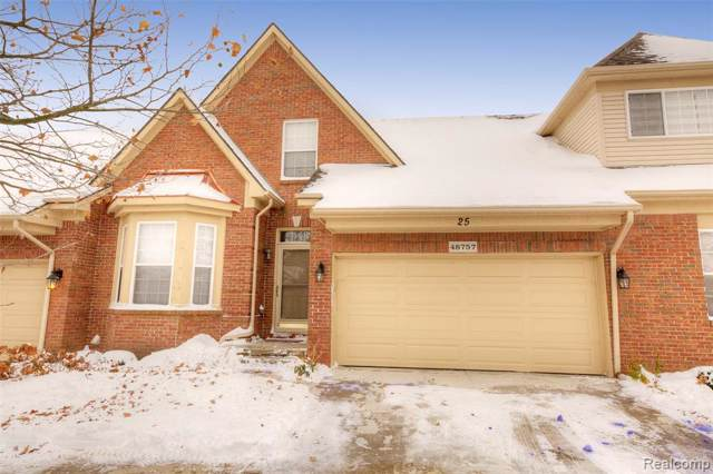 48757 Stonebriar Drive, Canton Twp, MI 48188 (MLS #219112951) :: The Toth Team