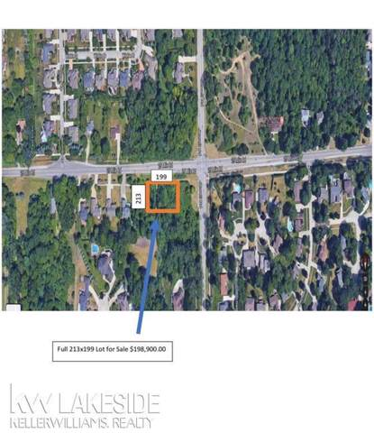 0 25 MILE ROAD, Shelby Twp, MI 48315 (MLS #58031399650) :: The Toth Team