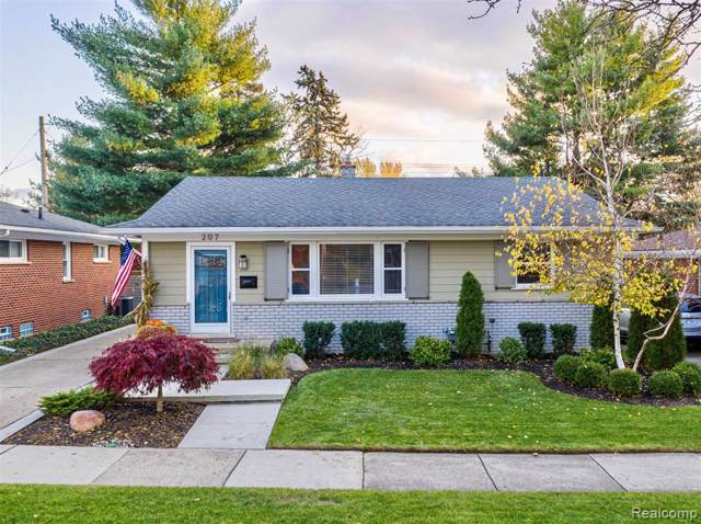 207 Orchard View Drive, Royal Oak, MI 48073 (#219113301) :: The Alex Nugent Team | Real Estate One