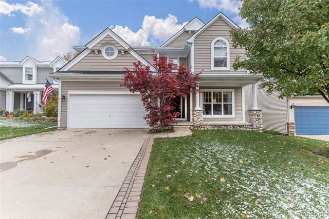 164 Turnberry Court, Milford Vlg, MI 48381 (#219113324) :: The Buckley Jolley Real Estate Team