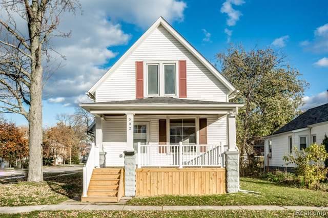 502 16TH Street, Port Huron, MI 48060 (#219113491) :: The Alex Nugent Team | Real Estate One