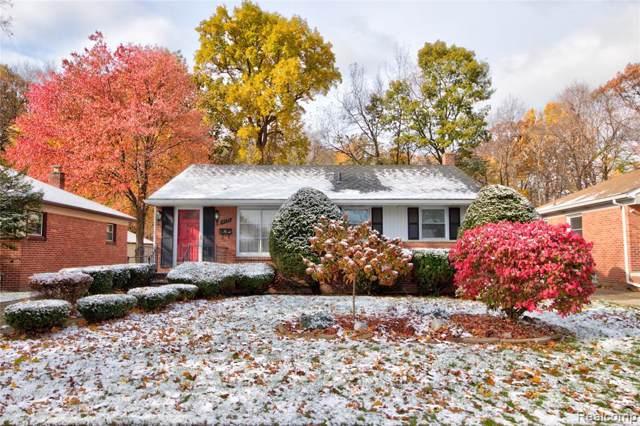 4111 Custer Avenue, Royal Oak, MI 48073 (#219113616) :: The Alex Nugent Team | Real Estate One