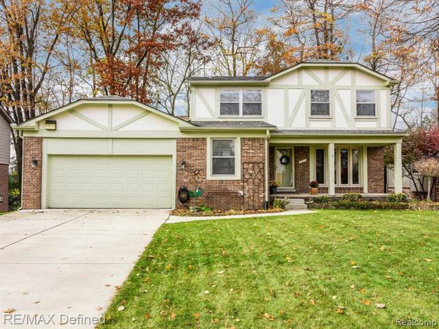 2833 Steamboat Springs Drive, Rochester, MI 48309 (#219113862) :: The Alex Nugent Team | Real Estate One