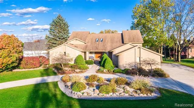 538 Oakbridge Drive, Oakland Twp, MI 48306 (#219114034) :: The Alex Nugent Team | Real Estate One