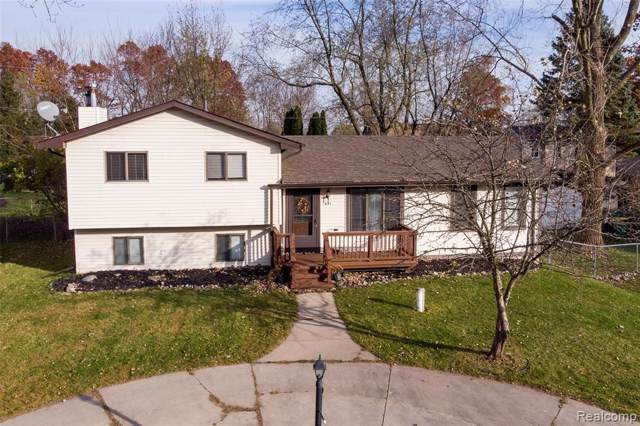 691 Harry Paul Drive, Orion Twp, MI 48362 (#219114039) :: The Buckley Jolley Real Estate Team