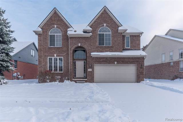 12285 Wendover Drive, Plymouth Twp, MI 48170 (#219114085) :: The Alex Nugent Team | Real Estate One