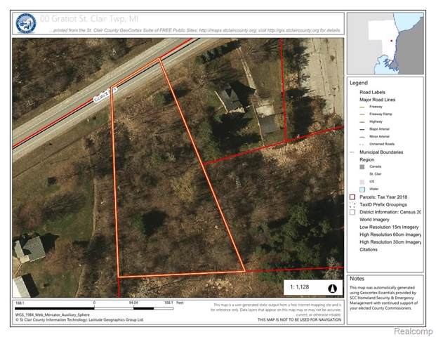 00 Gratiot Road, ST. CLAIR TWP, MI 48079 (#219114130) :: The Buckley Jolley Real Estate Team
