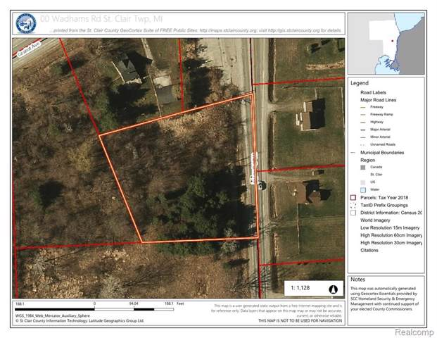 00 Wadhams Road, ST. CLAIR TWP, MI 48079 (#219114134) :: The Buckley Jolley Real Estate Team