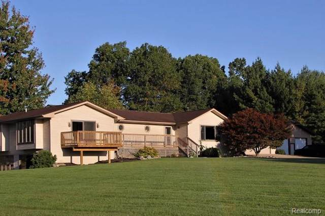 3154 Ray Road, Holly Twp, MI 48442 (#219114186) :: The Buckley Jolley Real Estate Team