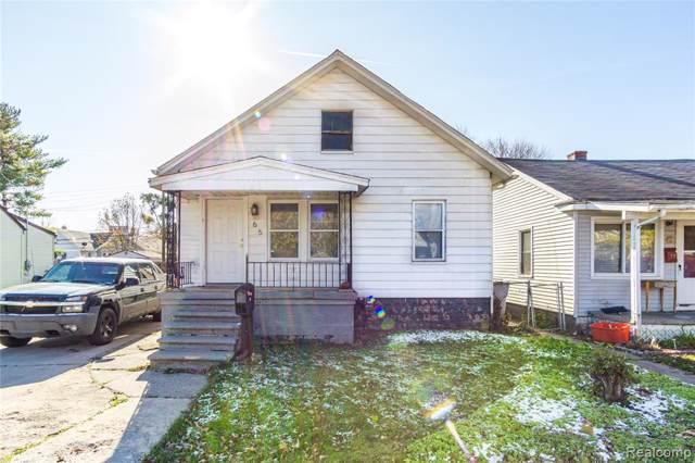 65 W Hayes Avenue, Hazel Park, MI 48030 (#219114274) :: The Alex Nugent Team | Real Estate One