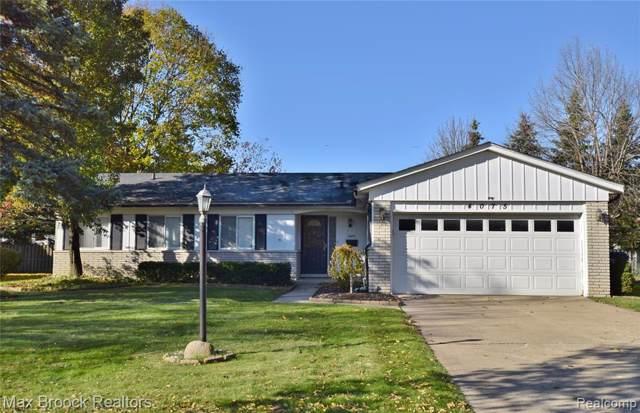 4075 Washington Crescent Drive, Troy, MI 48085 (#219114648) :: The Alex Nugent Team | Real Estate One