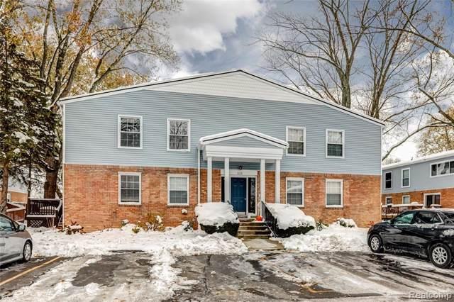 523 E University Drive #902, Rochester, MI 48307 (#219114766) :: The Alex Nugent Team | Real Estate One