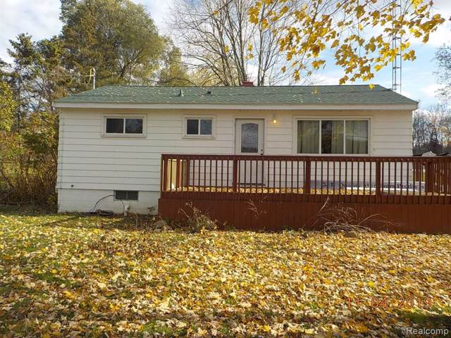12220 N State Road, Forest Twp, MI 48463 (MLS #219114775) :: The Toth Team