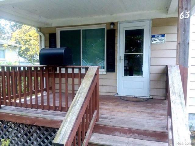 63 Meyers Ave, Hazel Park, MI 48030 (#219114853) :: The Alex Nugent Team | Real Estate One