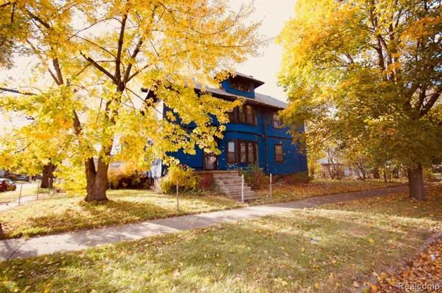 804 Hazelwood Street, Detroit, MI 48202 (#219114891) :: BestMichiganHouses.com