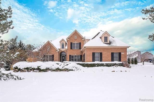 12750 Woodpine Drive, Green Oak Twp, MI 48178 (#219114919) :: GK Real Estate Team
