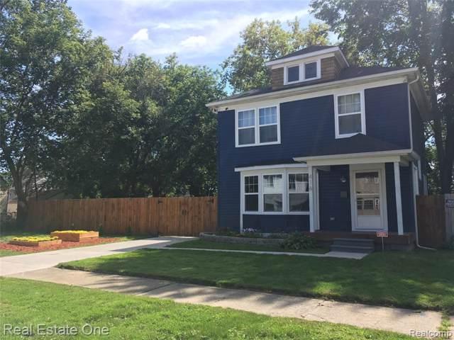 416 E George Avenue, Hazel Park, MI 48030 (#219114955) :: The Alex Nugent Team | Real Estate One