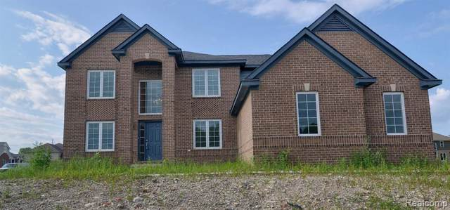 24381 Pembrooke Drive, Lyon Twp, MI 48178 (#219115073) :: The Buckley Jolley Real Estate Team