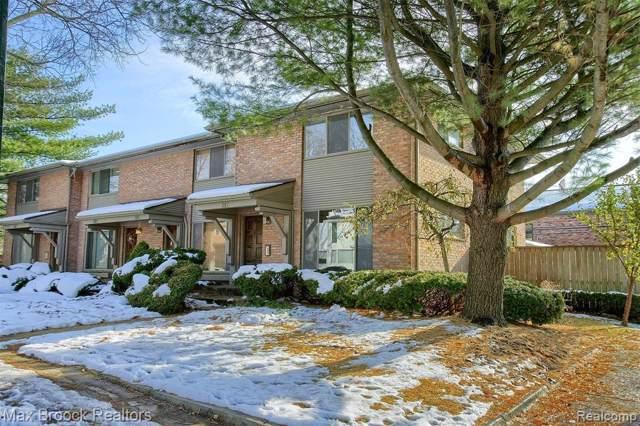 387 W Brown Street, Birmingham, MI 48009 (#219115085) :: The Alex Nugent Team | Real Estate One