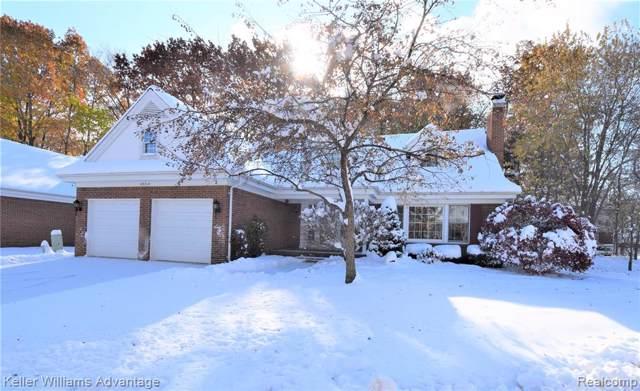 23313 Longacre Court, Farmington Hills, MI 48335 (#219115194) :: The Alex Nugent Team | Real Estate One