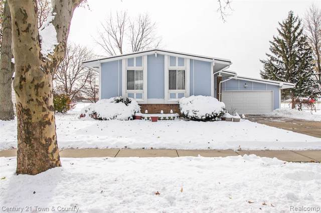1900 Hamman Drive, Troy, MI 48085 (MLS #219115369) :: The Toth Team