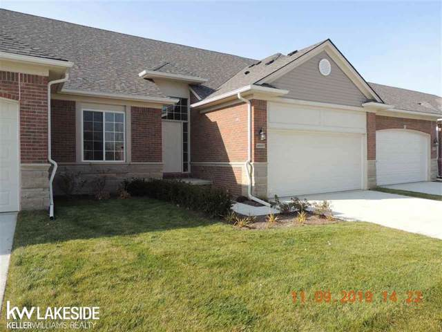 49257 Pond Place Unit # 160 / Bu, Shelby Twp, MI 48315 (#58050000015) :: The Alex Nugent Team | Real Estate One