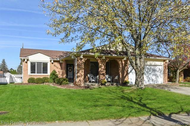 44886 N Spring Drive, Canton Twp, MI 48187 (#219115402) :: The Buckley Jolley Real Estate Team