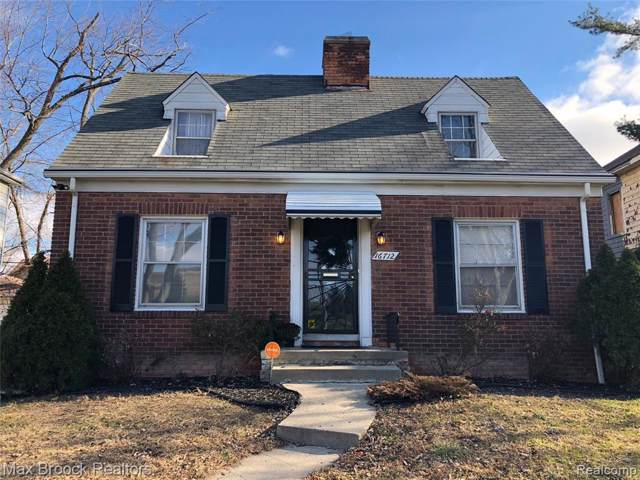 16712 Westbrook Street, Detroit, MI 48219 (#219115446) :: The Buckley Jolley Real Estate Team