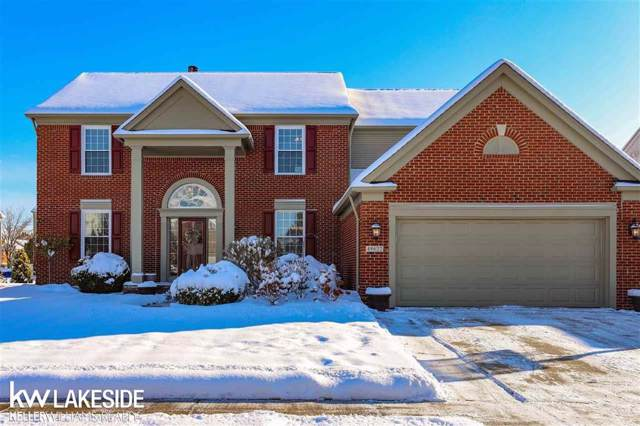 49622 Lehr Dr., Macomb Twp, MI 48044 (#58050000052) :: The Alex Nugent Team | Real Estate One