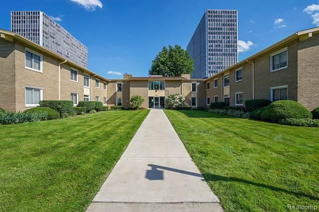 1550 Cherboneau Place #216, Detroit, MI 48207 (#219115542) :: Duneske Real Estate Advisors