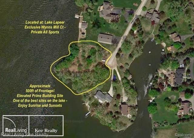 0000 Wynns Mill Court, Hadley Twp, MI 48455 (#219115543) :: The Buckley Jolley Real Estate Team
