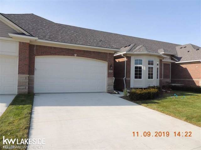49267 Pond Place Unit #161 / Bui, Shelby Twp, MI 48315 (#58050000069) :: The BK Agency