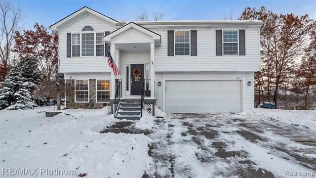 1867 Andover Court, Hartland Twp, MI 48843 (MLS #219115672) :: The Toth Team