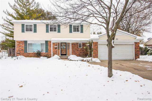 4169 Allegheny Drive, Troy, MI 48085 (MLS #219115750) :: The Toth Team