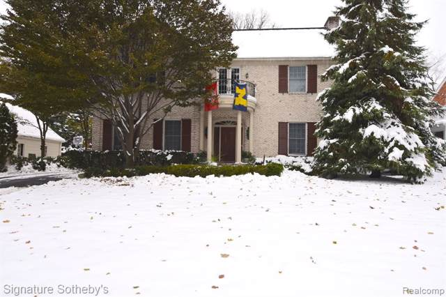 603 Hupp Cross Road, Bloomfield Twp, MI 48301 (#219115971) :: RE/MAX Nexus