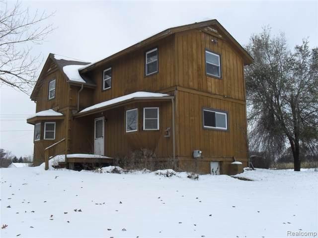 872 Columbiaville Road, Deerfield Twp, MI 48421 (#219116073) :: The Buckley Jolley Real Estate Team