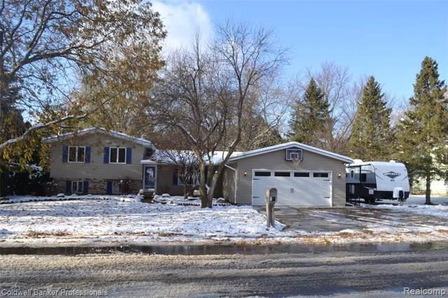 399 Mansfield Drive, Lapeer, MI 48446 (#219116152) :: The Buckley Jolley Real Estate Team